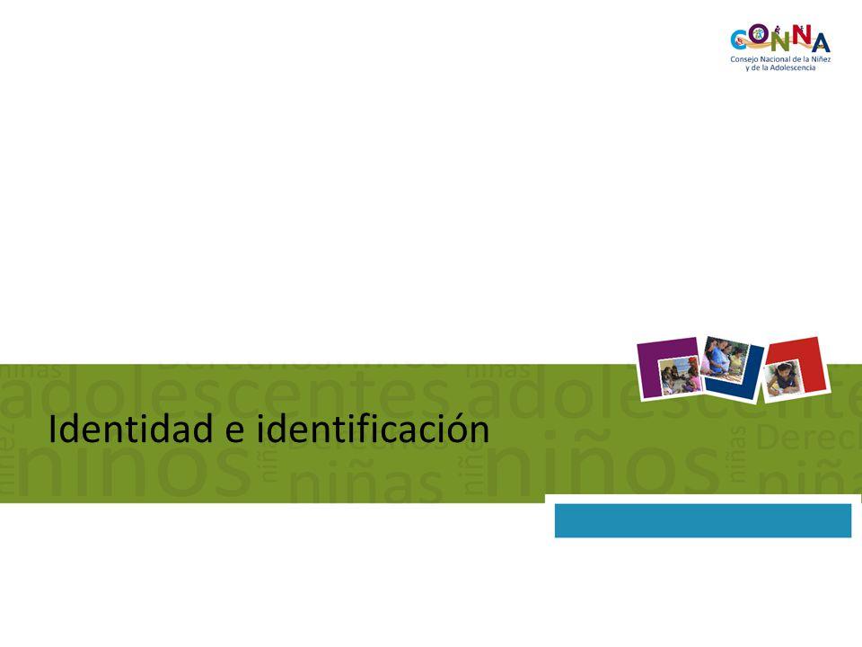 Identidad e identificación