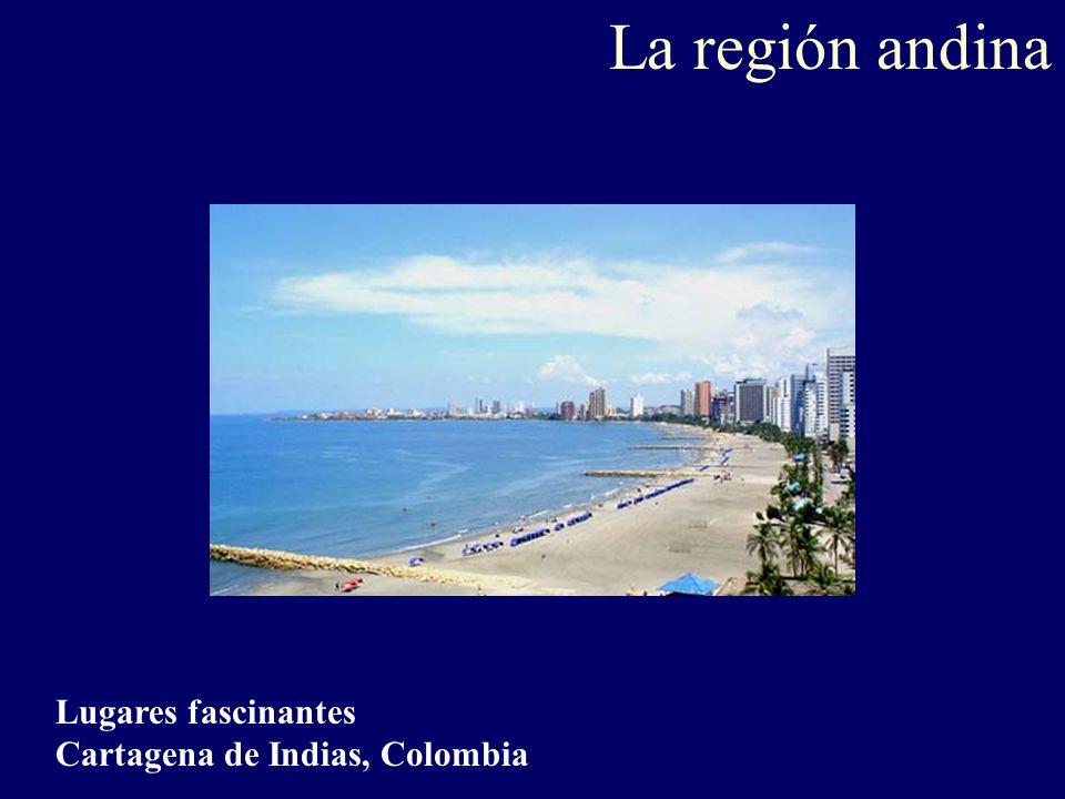 La región andina Lugares fascinantes Cartagena de Indias, Colombia
