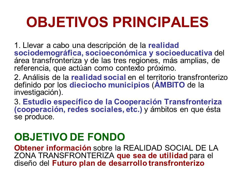 OBJETIVOS PRINCIPALES 1.