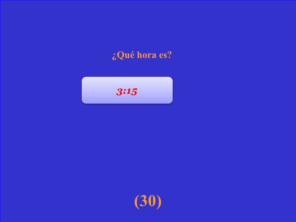 (20) 12 1 2 3 4 5 6 7 8 9 10 11 ¿Qué hora es