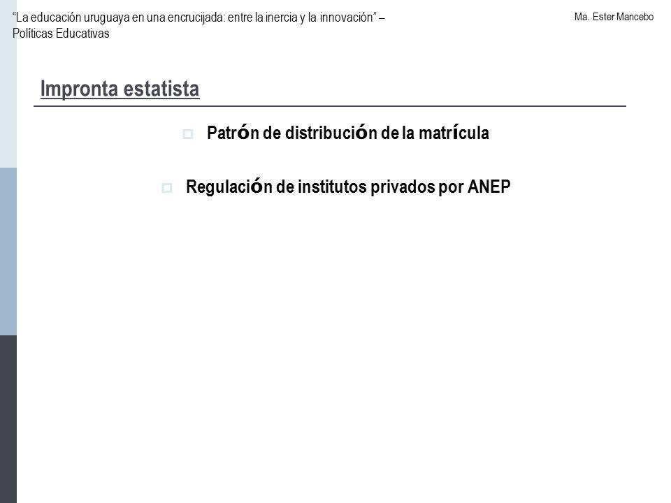 La educación uruguaya en una encrucijada: entre la inercia y la innovación – Políticas Educativas Ma.