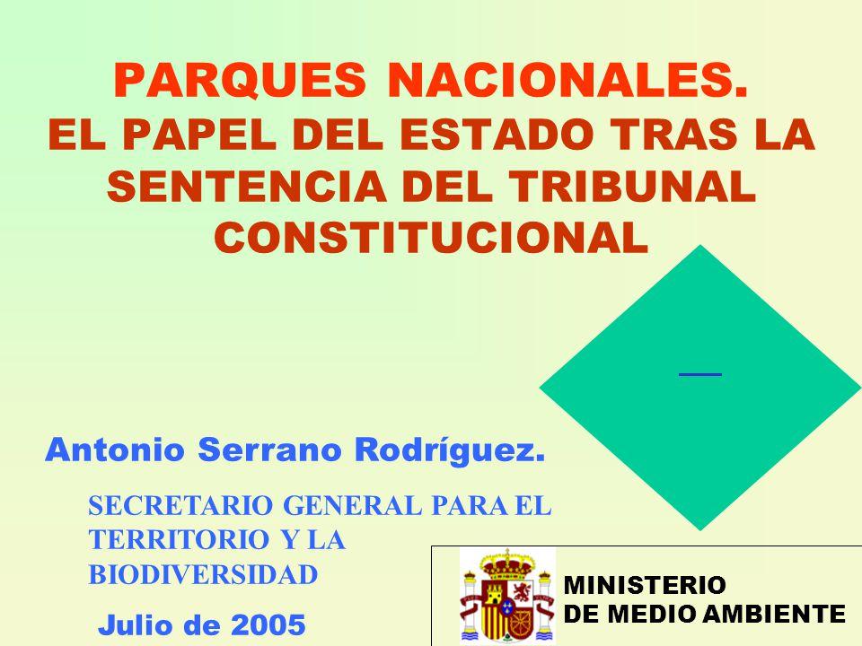 PARQUES NACIONALES.