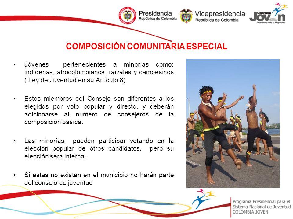 CONSEJOS DE JUVENTUD PROGRAMA PRESIDENCIAL PARA EL SISTEMA NACIONAL ...