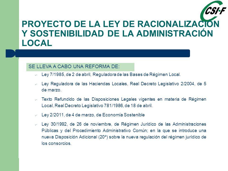 Ley 7/1985, de 2 de abril, Reguladora de las Bases de Régimen Local.