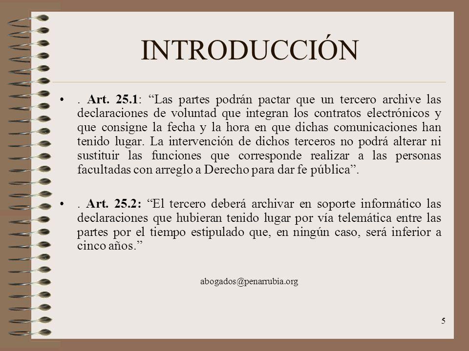 5 INTRODUCCIÓN. Art.