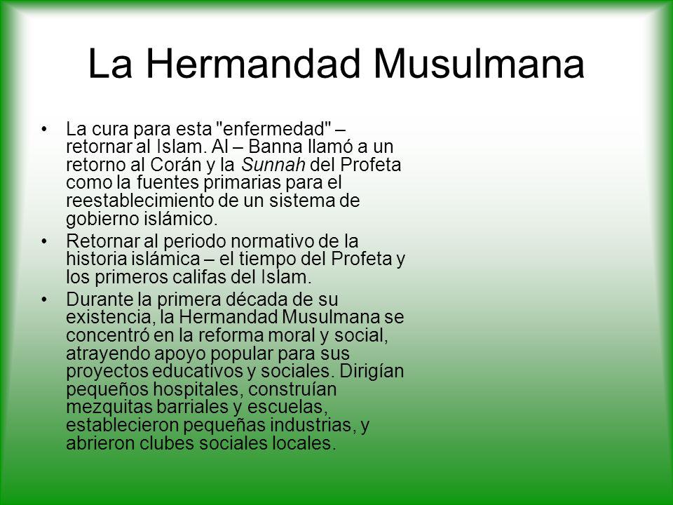 La Hermandad Musulmana La cura para esta enfermedad – retornar al Islam.