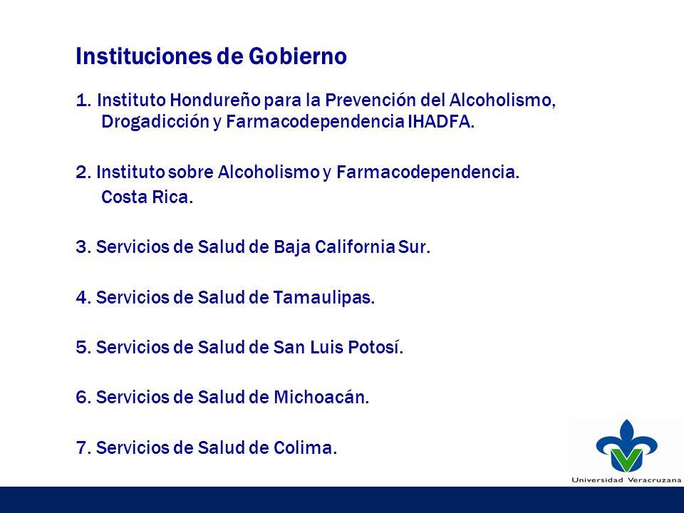 Instituciones de Gobierno 1.