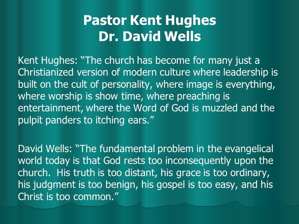 Pastor Kent Hughes Dr.