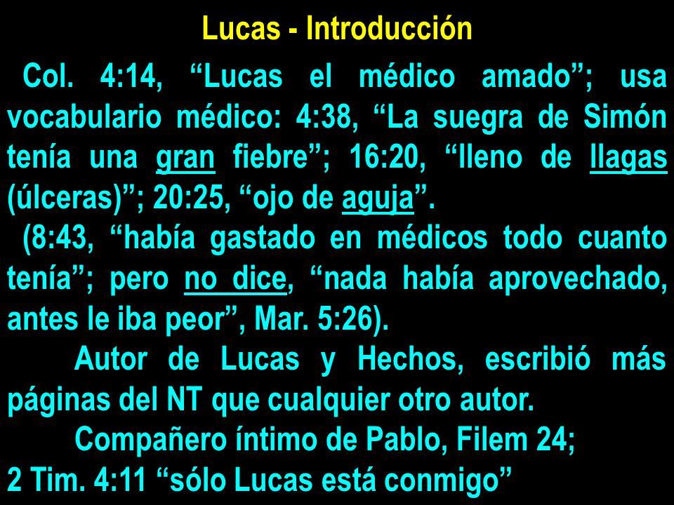 Lucas - Introducción Col.