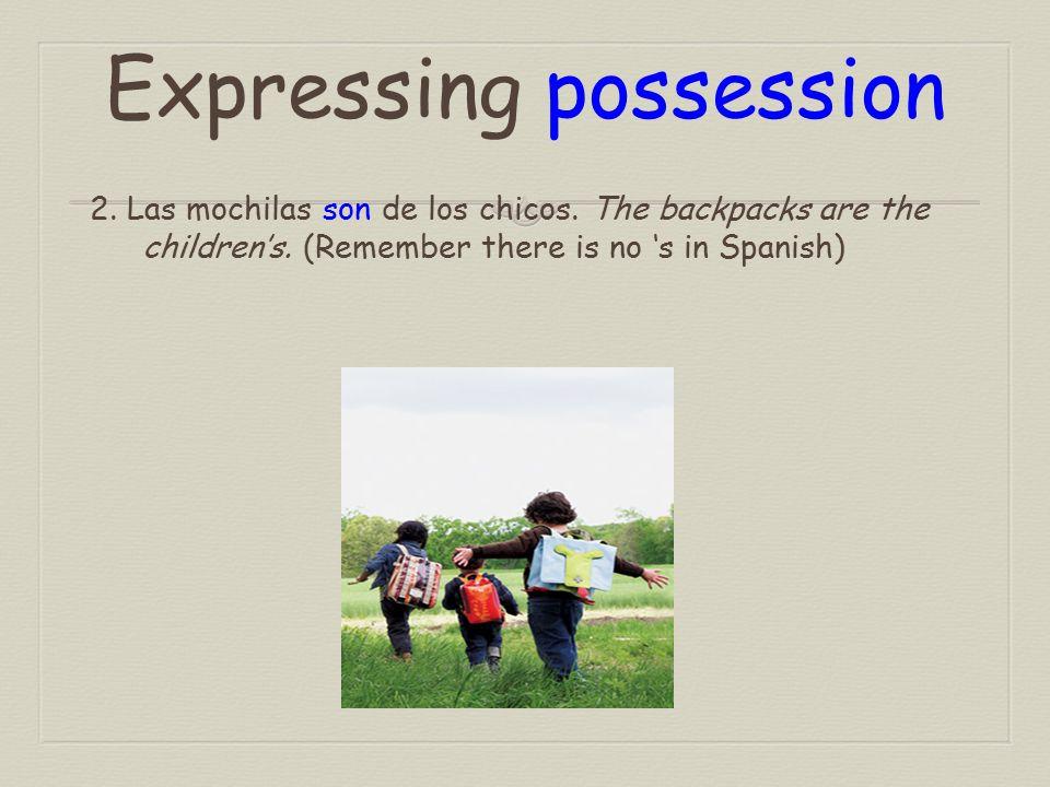 Expressing origin 1.Julia es de Puerto Rico. Julia is from Puerto Rico.