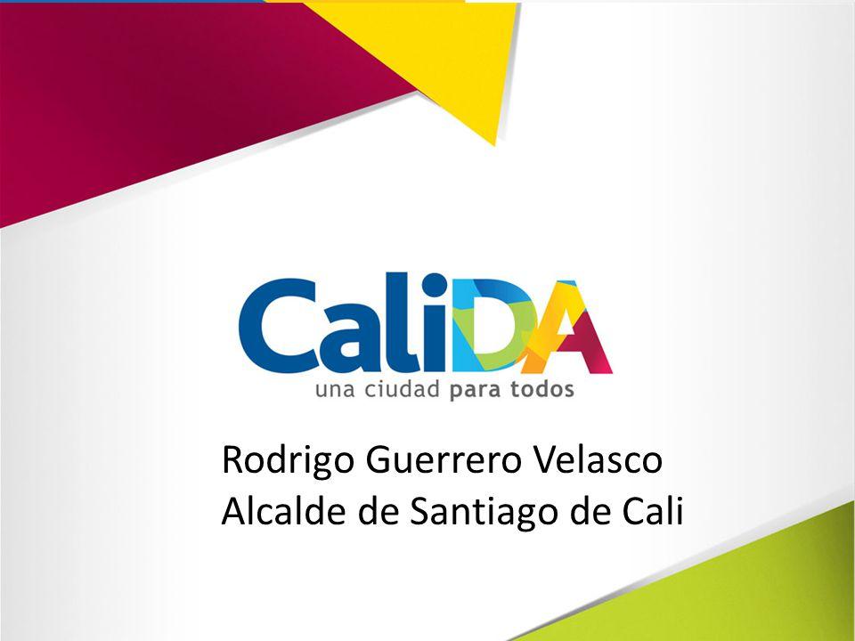 Rodrigo Guerrero Velasco Alcalde de Santiago de Cali