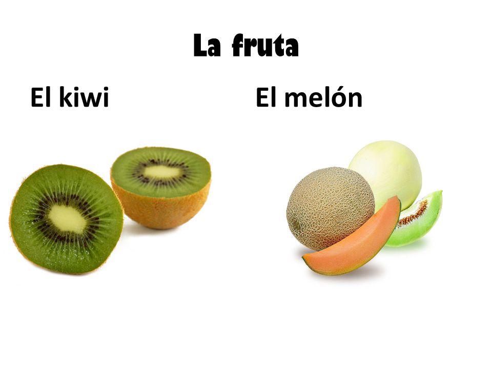 La fruta El kiwiEl melón