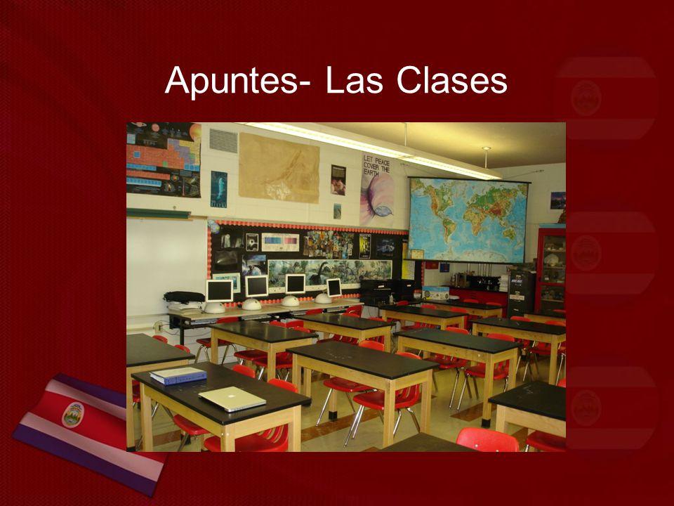 Apuntes- Las Clases