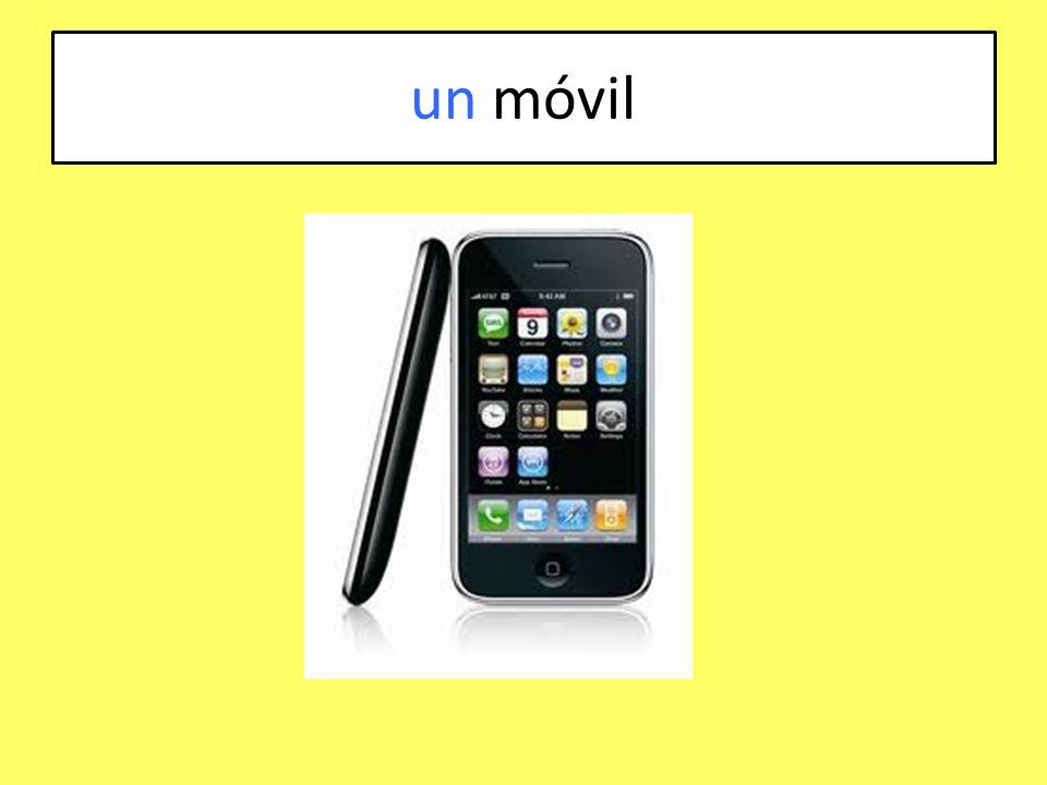 un móvil