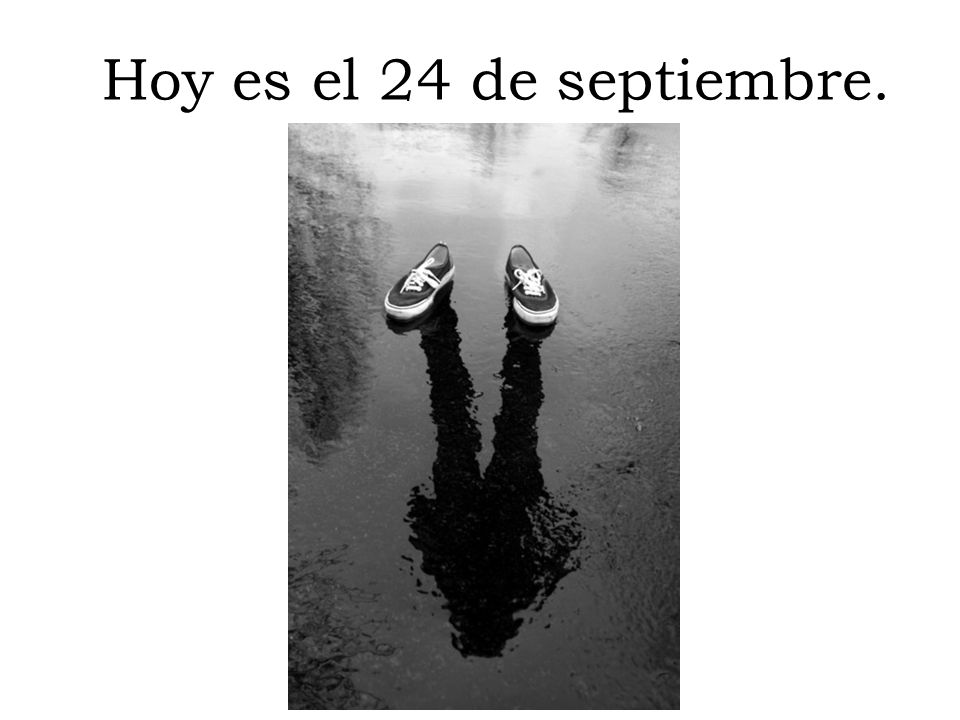 Hoy es el 24 de septiembre.