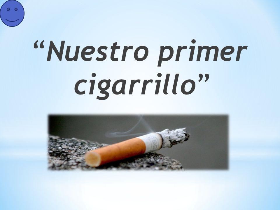 Nuestro primer cigarrillo