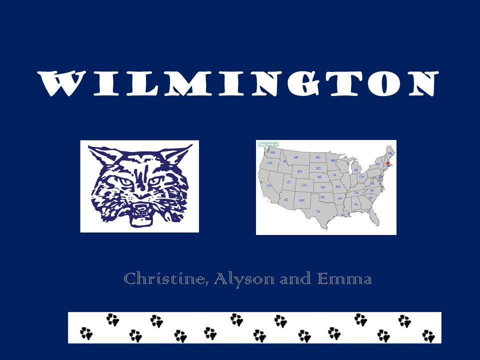 Wilmington Christine, Alyson and Emma