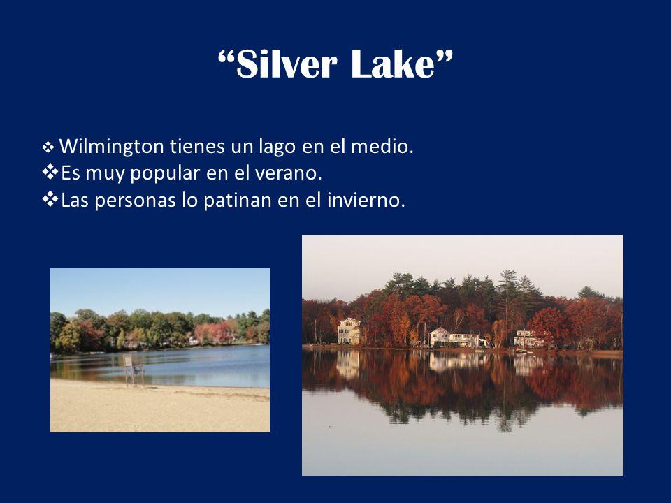 Silver Lake  Wilmington tienes un lago en el medio.