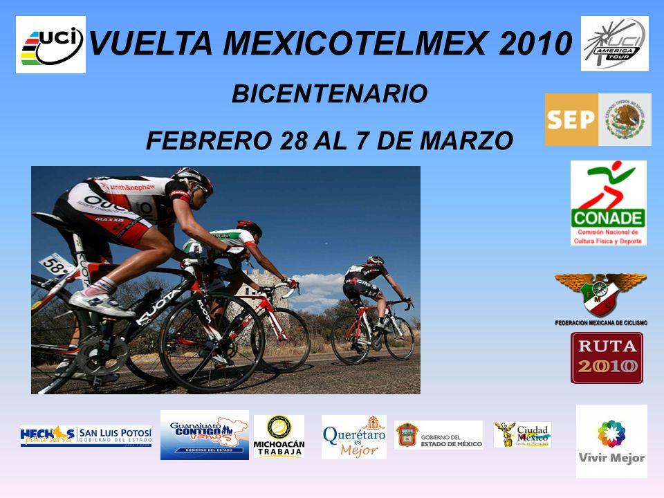 VUELTA MEXICOTELMEX 2010 BICENTENARIO FEBRERO 28 AL 7 DE MARZO CLASE 2.2.