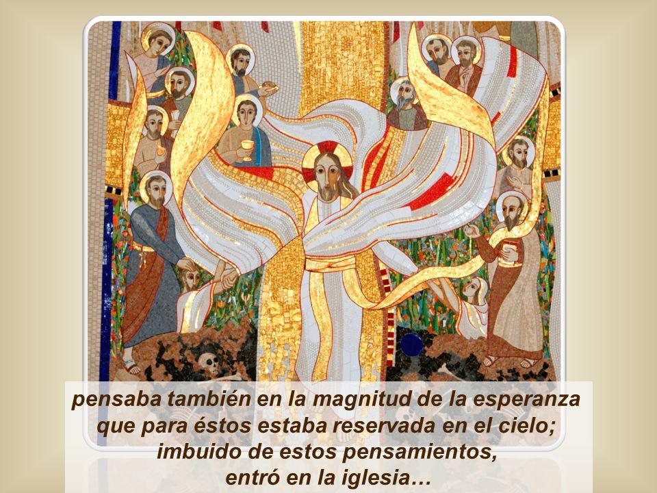…y cómo, según narran los Hechos de los apóstoles, muchos vendían sus posesiones y ponían el precio de la venta a los pies de los apóstoles para que lo repartieran entre los pobres.