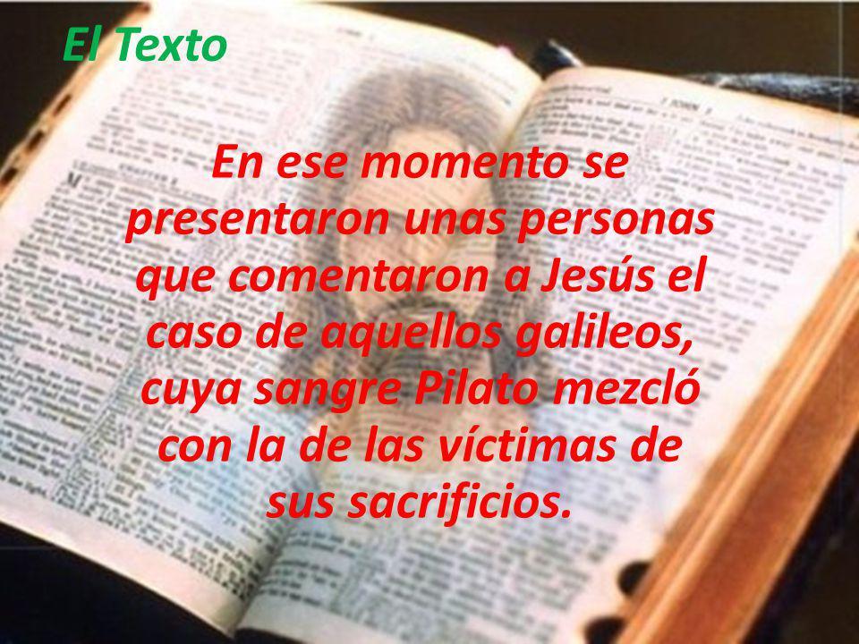 3er Domingo de Cuaresma Evangelio: Lucas 13, 1-9 Jesús resalta la misericordia y la paciencia de Dios