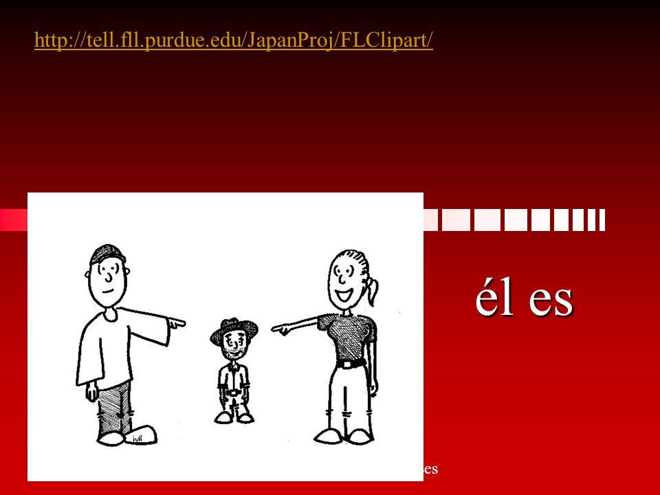 tú eres http://tell.fll.purdue.edu/JapanProj/FLClipart/ Señora Kauper s Spanish classes