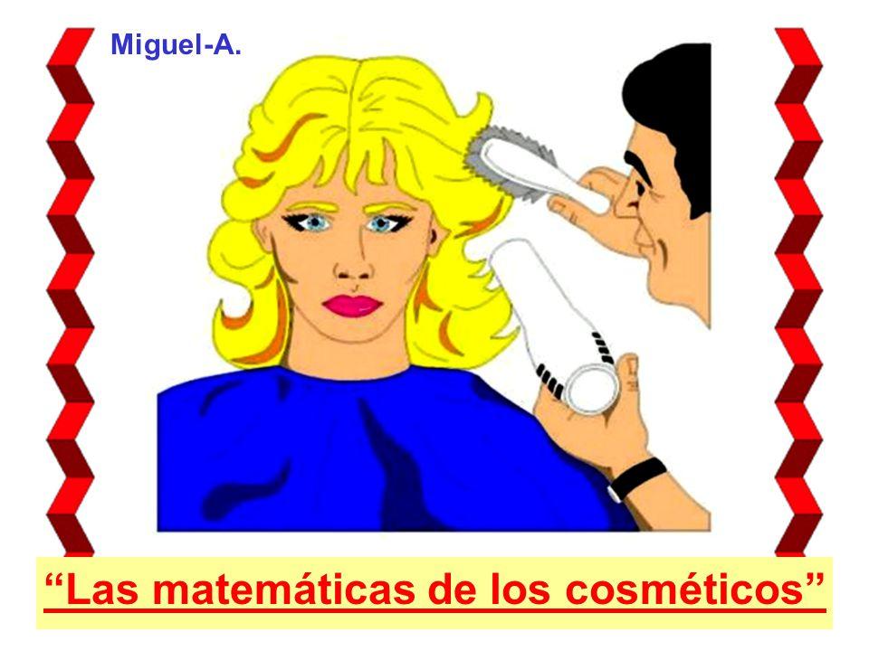 Miguel-A. Las matemáticas de los cosméticos