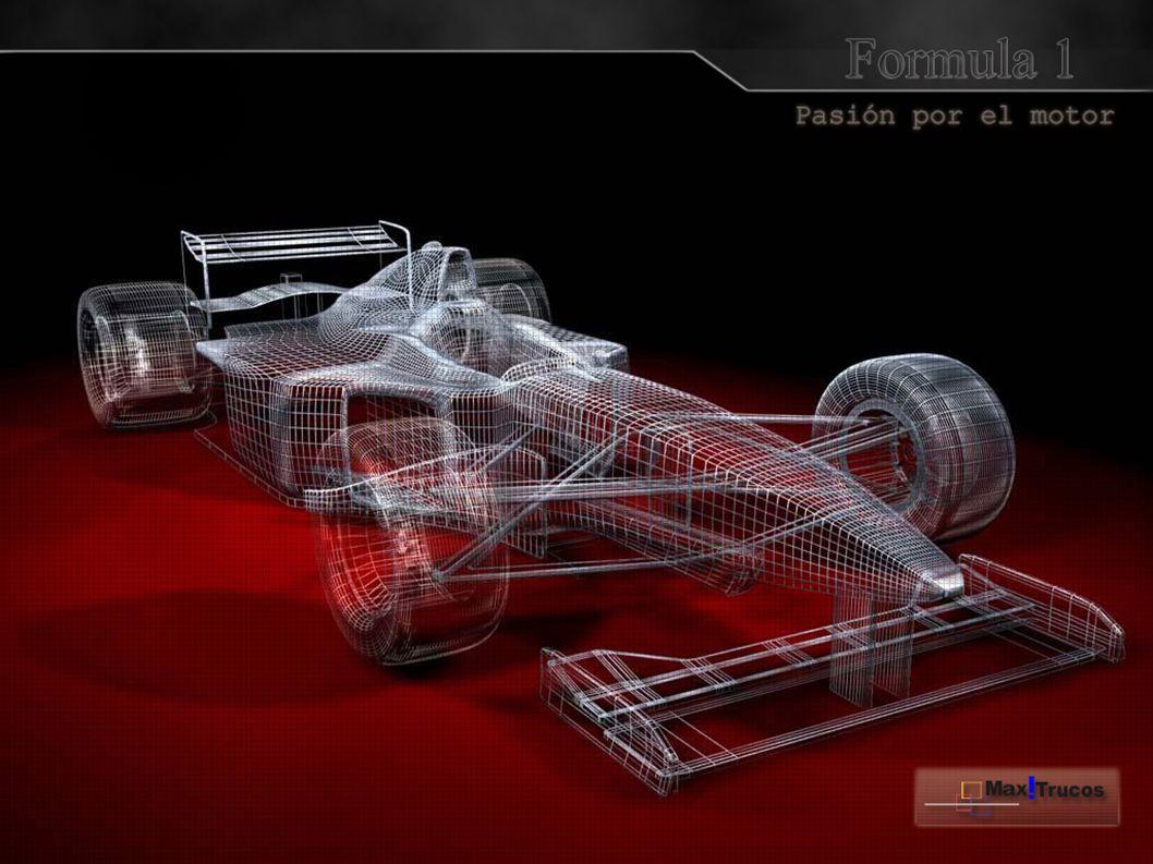 Se utilizan motores v8.Con velocidades de 350 km/h.motores La aerodinámica actual persigue dos objetivos: disminuir la resistencia aerodinámica al avance, y conseguir un alto esfuerzo aerodinámico sobre el coche hacia abajo.Esto determina que un monoplaza sea o no competitivo.aerodinámicaresistencia aerodinámica Un monoplaza con mucha carga aerodinámica, consigue una velocidad mayor en curva, mientras que con poca carga, consigue mayores velocidades máximas en las rectas.