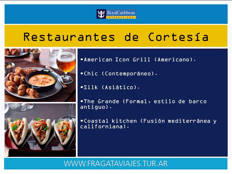American Icon Grill (Americano). Chic (Contemporáneo).