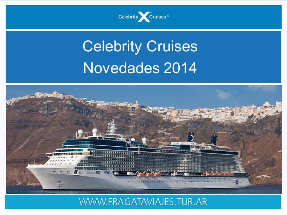 Celebrity Cruises Novedades 2014