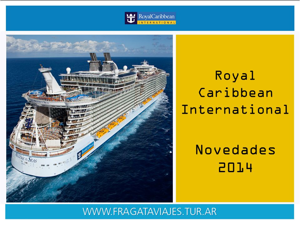 Royal Caribbean International Novedades 2014
