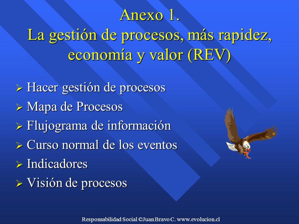 Responsabilidad Social ©Juan Bravo C. www.evolucion.cl Anexo 1.
