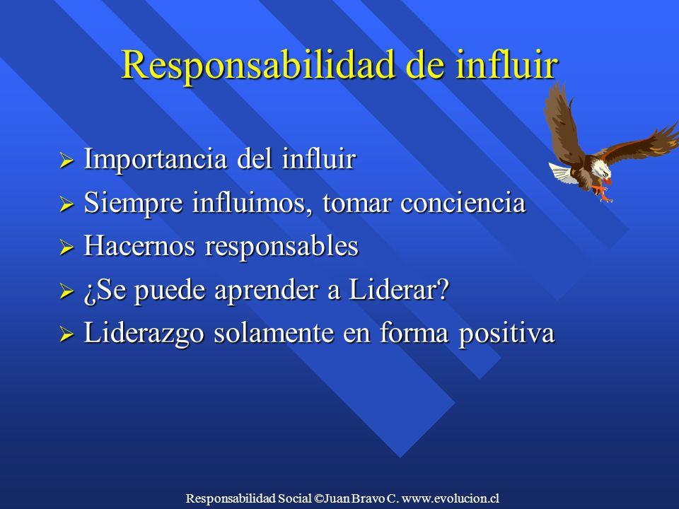 Responsabilidad Social ©Juan Bravo C.