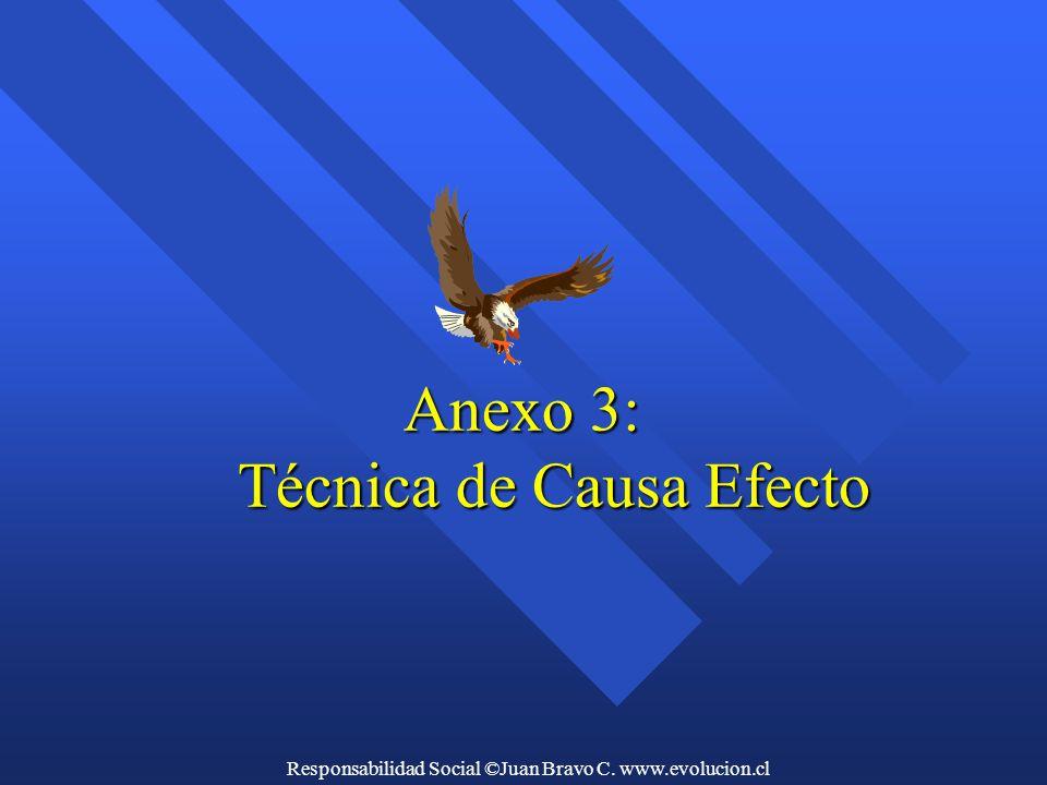 Anexo 3: Técnica de Causa Efecto Anexo 3: Técnica de Causa Efecto