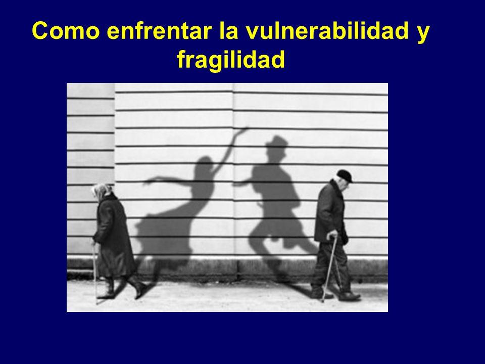 Como enfrentar la vulnerabilidad y fragilidad