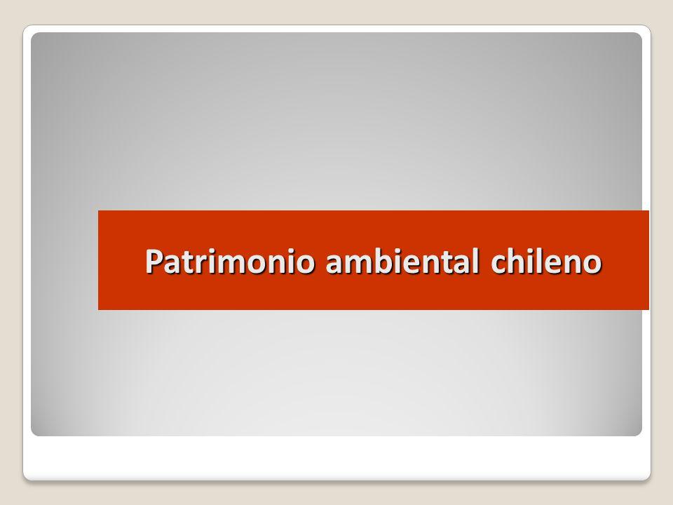 Patrimonio ambiental chileno
