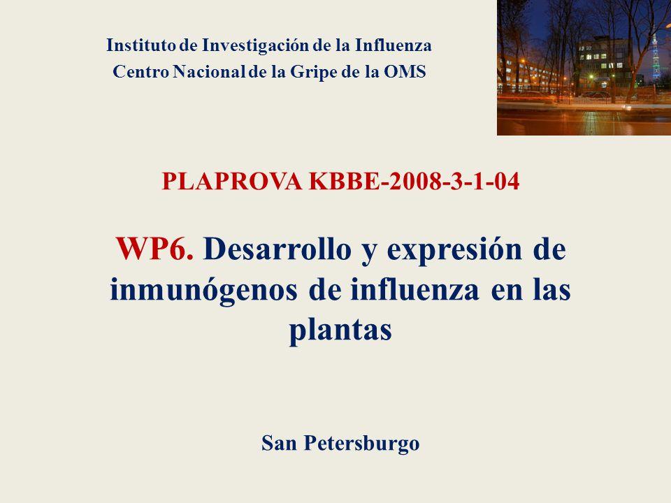 PLAPROVA KBBE-2008-3-1-04 WP6.