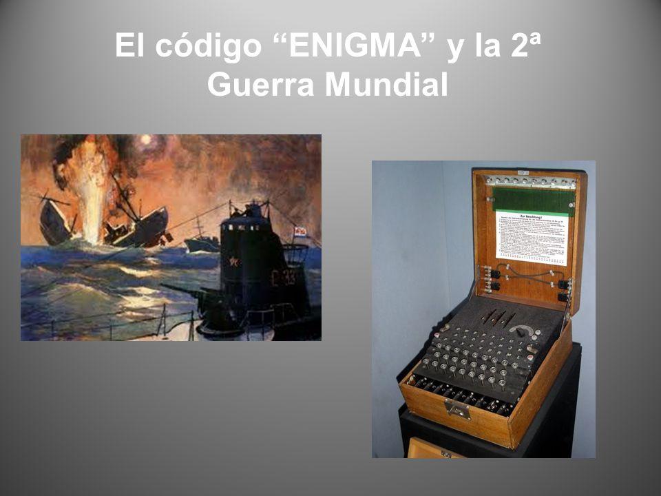 El código ENIGMA y la 2ª Guerra Mundial
