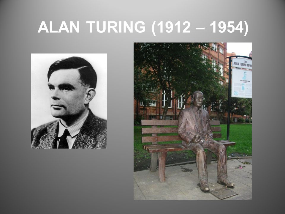 ALAN TURING (1912 – 1954)