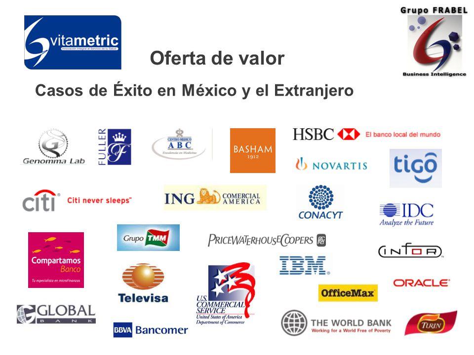 Casos de Éxito en México y el Extranjero Oferta de valor