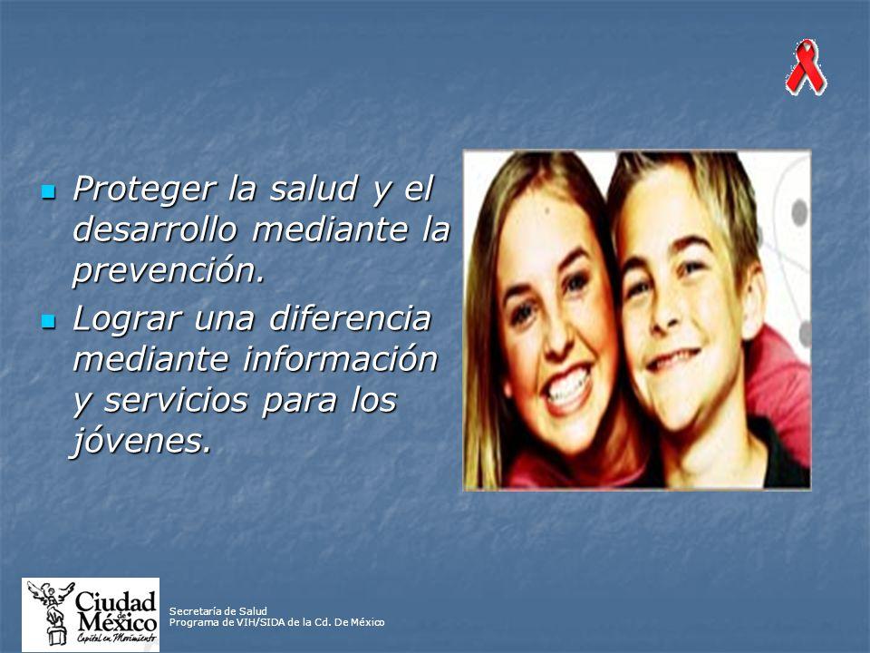 Secretaría de Salud Programa de VIH/SIDA de la Cd.