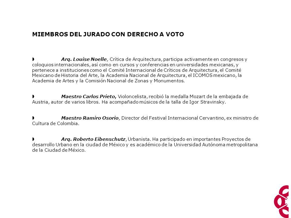  Arquitecto Pedro Ramírez Vazquez, Presidente del Jurado, autor entre otras cosas del Museo Nacional de Antropología e historia, el estadio Azteca, la Basílica de Guadalupe y el Palacio Federal Legislativo.