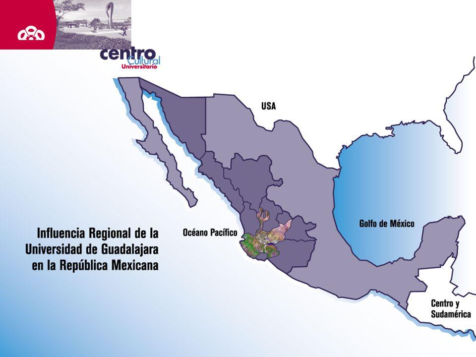 Fundada en 1792, como Real y Literaria Universidad de Guadalajara, es la segunda en importancia del país, opera a través de la Red Universitaria de Jalisco, formada por 12 centros universitarios.
