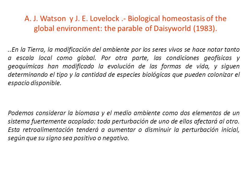 A. J. Watson y J. E.