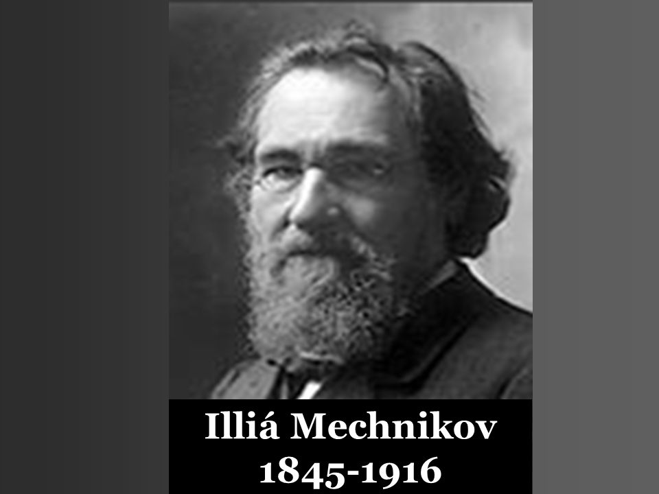 Illiá Mechnikov 1845-1916