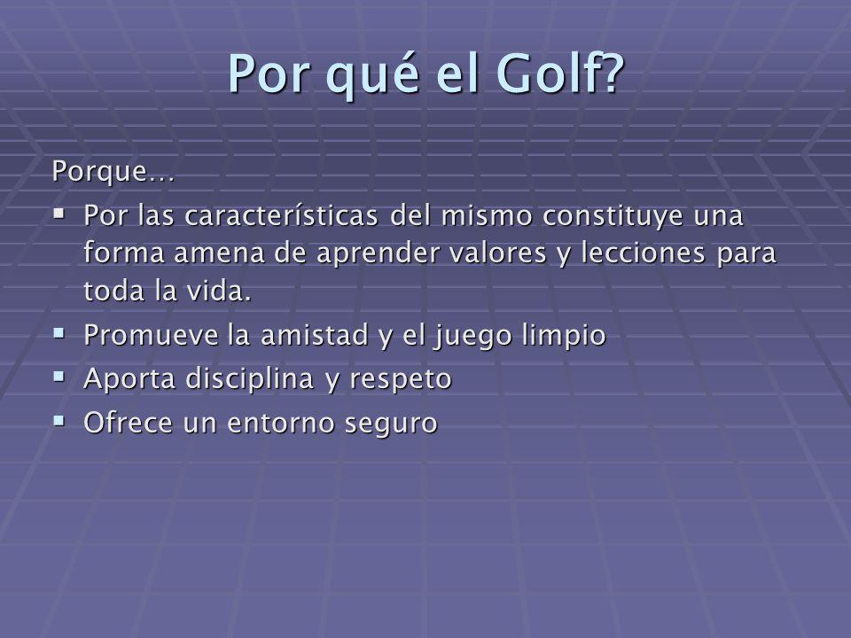 Por qué el Golf.