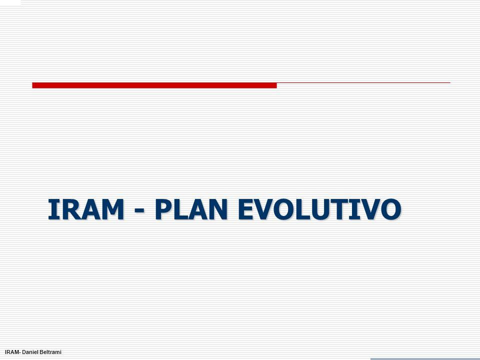 IRAM- Daniel Beltrami ISO 9001:2000 Principales Resultados Certificaciones Sud América