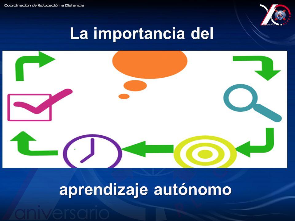 aprendizaje autónomo La importancia del