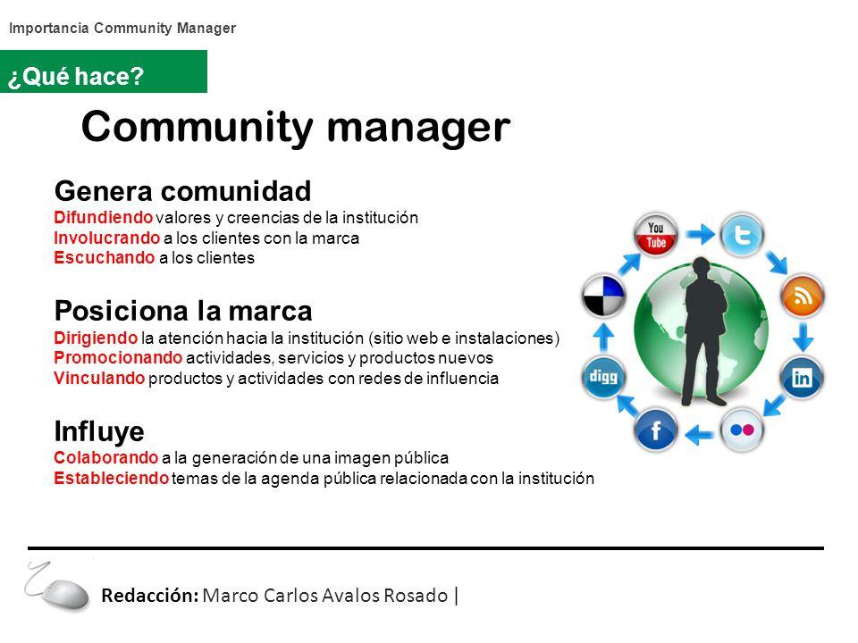 Community manager ¿Qué hace.