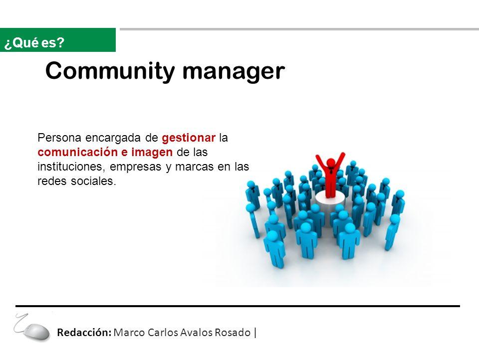 Community manager ¿Qué es.